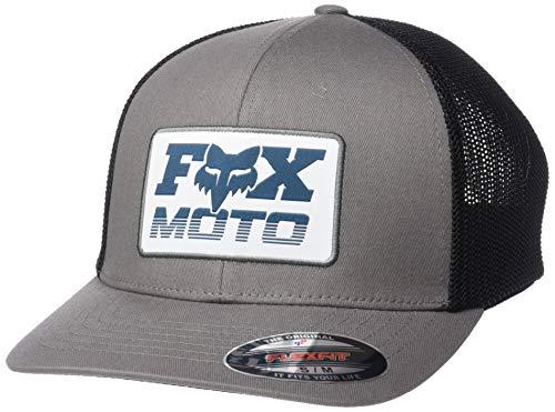 Fox Head Men's FLEXFIT, Pewter, L/X-Large