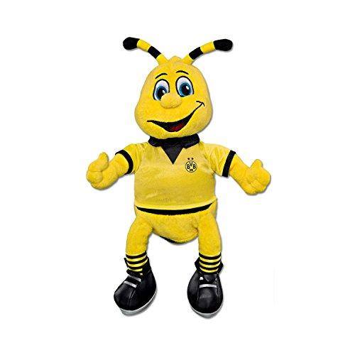 Unbekannt Borussia Dortmund Emma Plüschfigur mit Saugnapf 20cm BVB 09 - Plus Lesezeichen I Love Dortmund