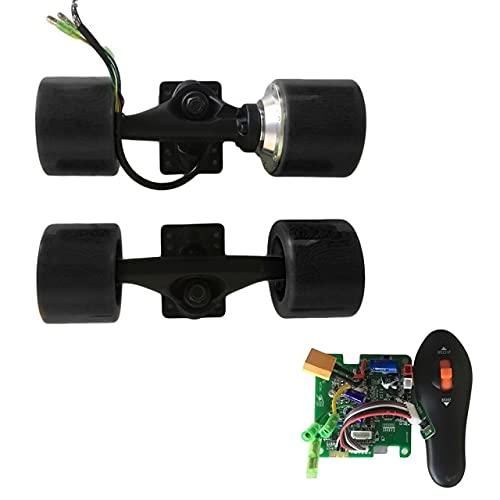 Longboard eléctrico 72mm Kit de Motor de Cubo monopatín Motor sin escobillas...