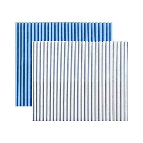 FPZHONG. 5 Fogli Purificatore d'Aria Filtro Sostitutivo Sostituzione Filtro Filtro Filtro Sostituzione della Polvere del Filtro (Color : Blue)