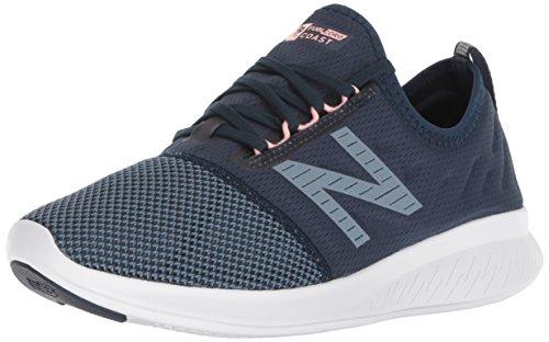 New Balance Women's Coast V4 FuelCore Running Shoe, Galaxy, 6.5 B US