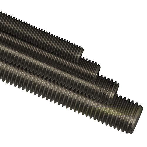 BiBa-Schrauben 1 Meter Gewindestange M6 1000 mm DIN 975 976 Gewindestift Gewindebolzen Stange Edelstahl A2