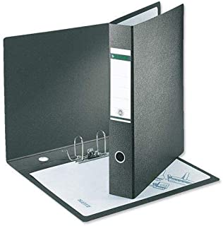 Atlas A4 Plastic Box File - Black 80 mm