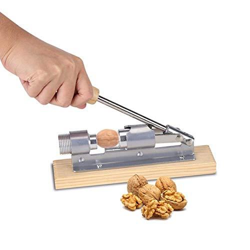 Nussknacker Riss Mandel Klemmmuttern Haselnuss Haselnuss Pekannuss Schwere Walnuss Keks Haselnuss Maschine Schäler Küchenklemme Werkzeug