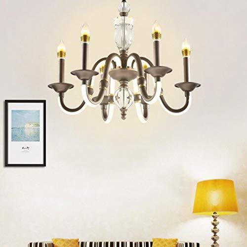 Acryl Moderne Led Kristal, Woonkamer Slaapkamer Plafon Led Home Verlichting Plafond Verlichting Woonverlichting armaturen (Toestand : 8 Koppen)