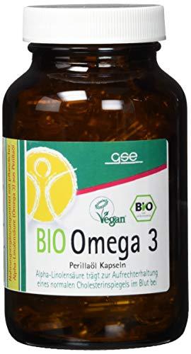 GSE Bio Omega 3 - Perillaöl-Kapseln, 1er Pack (1 x 90 g)
