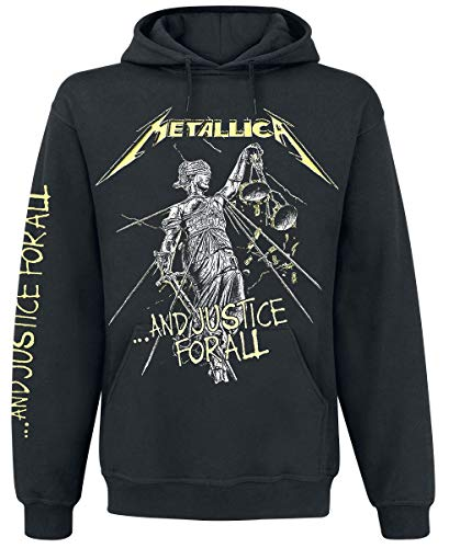 Metallica ...and Justice for All Männer Kapuzenpullover schwarz M
