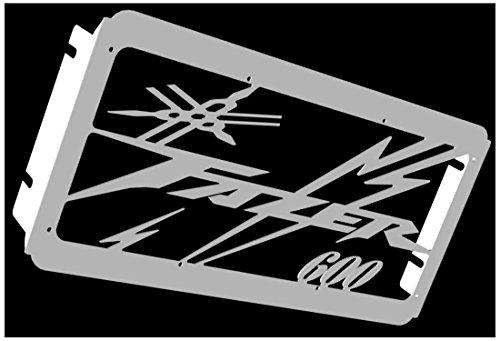 Cache radiateur/Grille de radiateur 600 FZS Fazer 98>01 et 02>03 Design «Eclair »