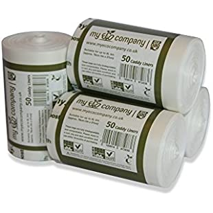 My Eco Company 5L / 6L Compostable Kitchen Food Waste Compost Bin Bags - 200 Caddy Liners (5 Litre / 6 Litre):Carsblog