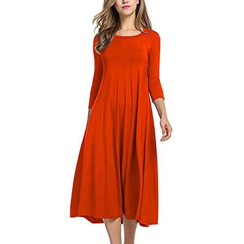 DAIDAILYQ - Golf-Kleider für Damen in red, Größe XXXL