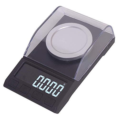 Keuken Thuis Multifunctionele Digitale Zakweegschaal Hoge Precisie Mini Weegschaal Nauwkeurig 0.001G Mg Elektronische Weegschaal Lippenstift Weegschaal Medicijnpoeder Oplaadbare Karaatschaal -20G/0.001G