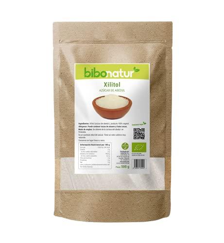 Bibonaturt Xilitol (Azúcar de Abedul) 500Grm 500 g