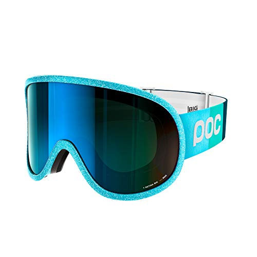 POC Retina Big Clarity Comp Ski Brille, Julia Blue/Spektris Blue, One Size