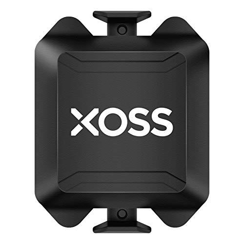 XOSS Trittfrequenz- / Geschwindigkeitssensor für Fahrradcomputer-Smartphones Bluetooth/ANT + Dual-Modus Radfahren Fahrrad Wireless (Cadence/Speed Sensor)