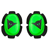 Dainese pista rodilla Slider verde/negro