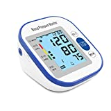 """Automatic Upper Arm Blood Pressure Monitor Digital BP Monitor Machine w/ 3.5"""" Large Backlit LCD Display, 2-User with 90 Memory Each, Soft Wide-Range Cuff, FDA Compliant"""