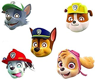 Party Propz Paw Patrol Face Mask (10 Pieces)/Paw Patrol Party Supplies