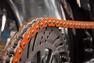 R/&K RK Standardkette 420 SB//116 Kette offen mit Clipschloss orange