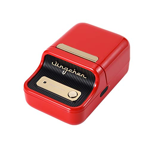Rantoloys Label Printer Portable Wireless BT Thermal Label Maker Sticker Printer with RFID Recognition Great for Supermarket Clothing Jewelry Retail Store Home Labeling Barcodes Price Name Printing