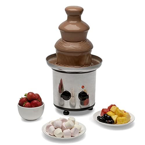 Pinewood   Chocolate Fountain Fondue Machine   3 Tiers Cascading  ...