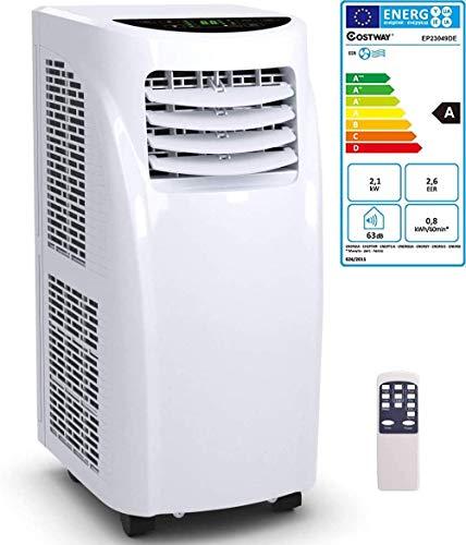COSTWAY - Puissant climatiseur portable de 7000 BTU