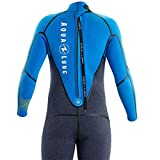 Aqua Lung Aquaflex Mens 5mm Wetsuit Grey Blue S