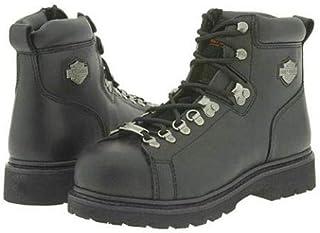 """[ハーレーダビッドソン] メンズ 男性用 シューズ 靴 ブーツ 安全靴 ワーカーブーツ Dipstick 6"""" Steel Toe - Black [並行輸入品]"""