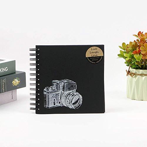XXY-shop Recuerdos Regalo Tres tamaños 20 Hojas Estilo Moderno Álbum de Bricolaje Papel de álbum de Recortes Álbum Artesanal de Bricolaje Álbum de Recortes Álbum de Fotos Manual