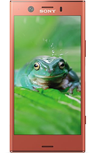 Sony Xperia XZ1 Compact 11,65 cm (4,6 Zoll) Triluminos Display Smartphone (19MP Kamera, 32 GB Speicher, Android 8) pink