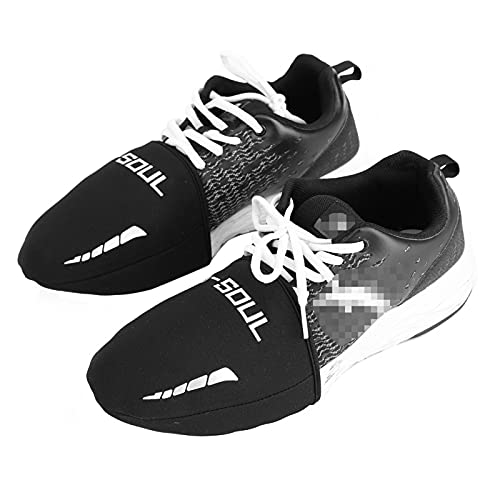 Waterproof 1Pair Black Cycling Overshoes Bike Shoe Cover Shoes Cover Dust Proof for Cycling