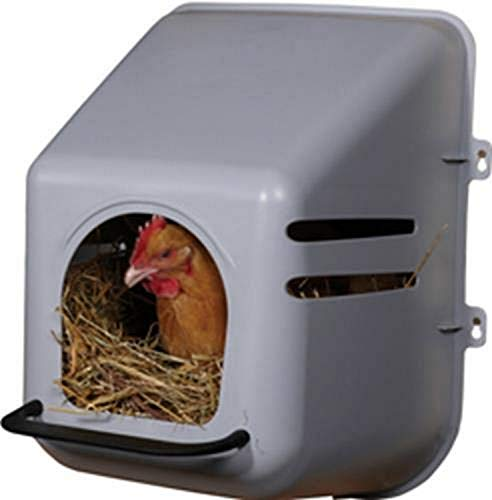 LITTLE GIANT Miller Manufacturing 163620 Single Chicken Nesting Box for Birds