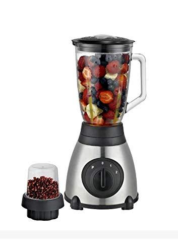 ROYALTRONIC Standmixer 2 in 1 Smoothiemaker Kaffee mahlen Mixer Glas Blender