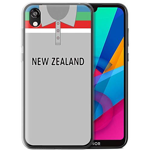 eSwish Gel TPU Hülle/Case für Huawei Honor 8S/Y5 2019 / Neuseeländer Muster/Retro Cricket Weltmeisterschaft 1992 Kollektion