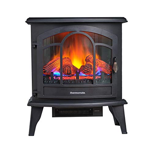 thermomate Electric Fireplace Stove, 23 Inches...
