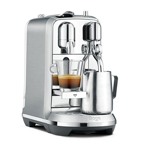 Sage Appliances Sage NESPRESSO SNE800 The Creatista Plus - Acero inoxidable cepillado