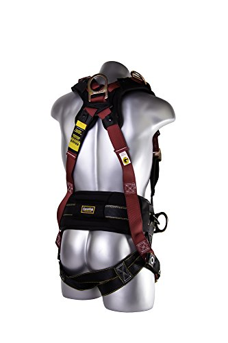 Guardian Fall Protection 11171 XL-XXL Seraph Construction Harness with Side D-Rings