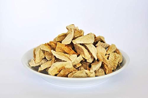 Tranches de pommes pelées séchés Bio 1 kg Fairtrade Max Havelaar biologiques, cru, sans sucre ajouté et non sulfurés, extra doux 1000g