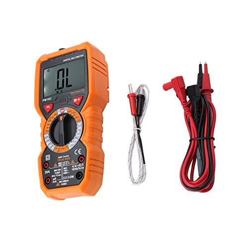 Tester Datenlogger Spannung Temperatur Widerstand Multimeter Tragbar Digital Thermometer für Elektriker