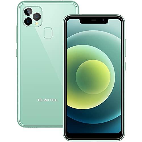 Smartphone Offerta del Giorno OUKITEL C22, 4GB 128GB (SD 256GB), 5.9  HD+ U-notch Android 10 Display Cellulari offerte, 13MP 8MP Camera, 4000 mAh Batteria, Dual SIM Face ID Telefono Economico Verde
