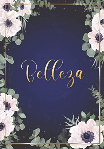 Belleza: Cuaderno de notas A5 | Nombre personalizado Belleza