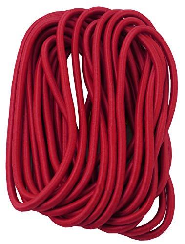 Savage Island slijtvast elastisch elastiek elastiek band bungee gebreid 5m rood