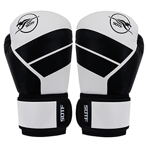 NOERTYB Guantes De Boxeo Fitness Formación Feroce Lucha Boxeo Guantes Hombre Thai Boxe Caja Boxeo Foco Guantes MMA Sanda