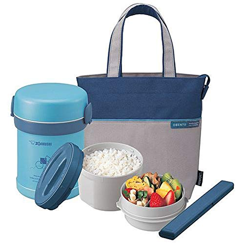 Zojirushi SL-MEE07AB Ms. Bento Stainless Lunch Jar, Aqua Blue, One size