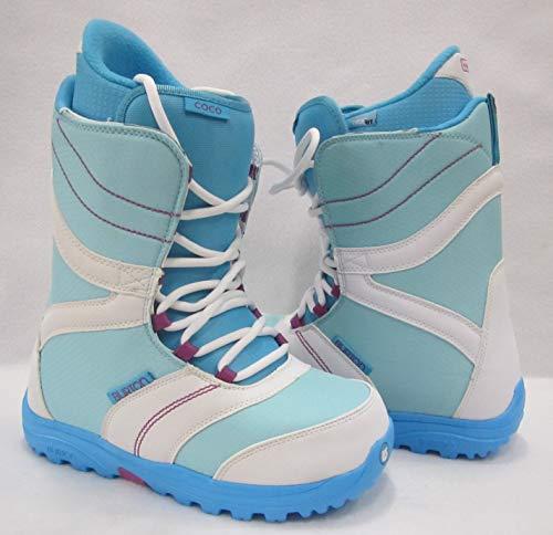 Burton Coco Snowboardschuhe für Damen., Weiß / Blau, Taille 38