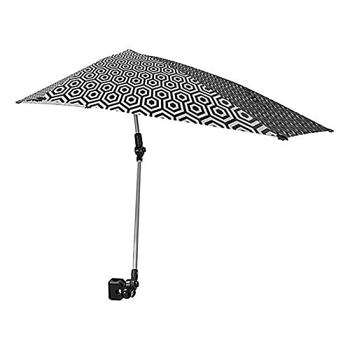 N / B Ombrellone da Spiaggia Regolabile, con pensili universali per Morsetto Shelter, Sedia da Pesca Spiaggia di ombrellone Shelter, per Protezione dell'ombrello Sedia da Spiaggia