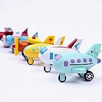 Generic 12 Parti in Legno di Aerei Ed Elicotteri, Abilità Motorie Fini, Coordinamento Occhio-Mano #4
