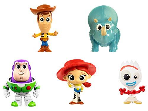 Toy Story - Minis Disney Pixar Confezione da 5 Mini Personaggi da Collezione, per Bambini da 3+ Anni, Confezione da 5