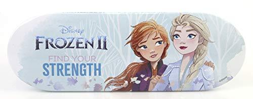 Frozen II Schminkdose – kleine Lipgloss-Dose mit verschiedenen Lipgloss- und Lidschattenfarben und...
