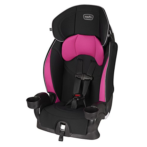 Evenflo Chase Sport Harnessed Booster Car Seat, Jayden 18x18.5x29.5 Inch (Pack of 1)
