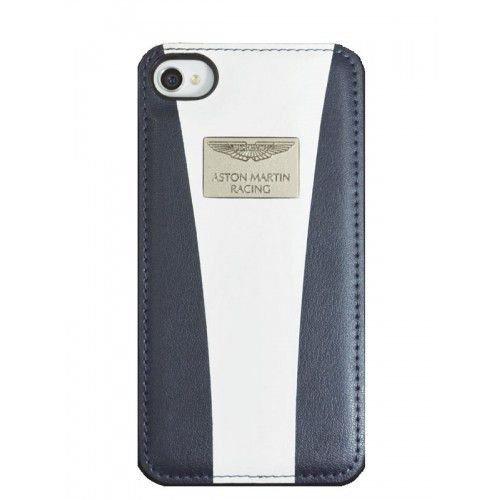 Aston Martin Racing–Cover per iPhone 5/5S Blu/Bianco